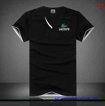 Shirt Homme Lacoste Destockmark basket T France D9EIYWH2